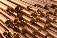 ASTM B111 Copper Alloy Tube C70400 C70600 C10200 Copper Nickel Pipe ASTM B88 ASTM B688