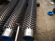 ASTM A312 Studded Heat Exchanger Piping Extruded Fin Tube ABS Certification