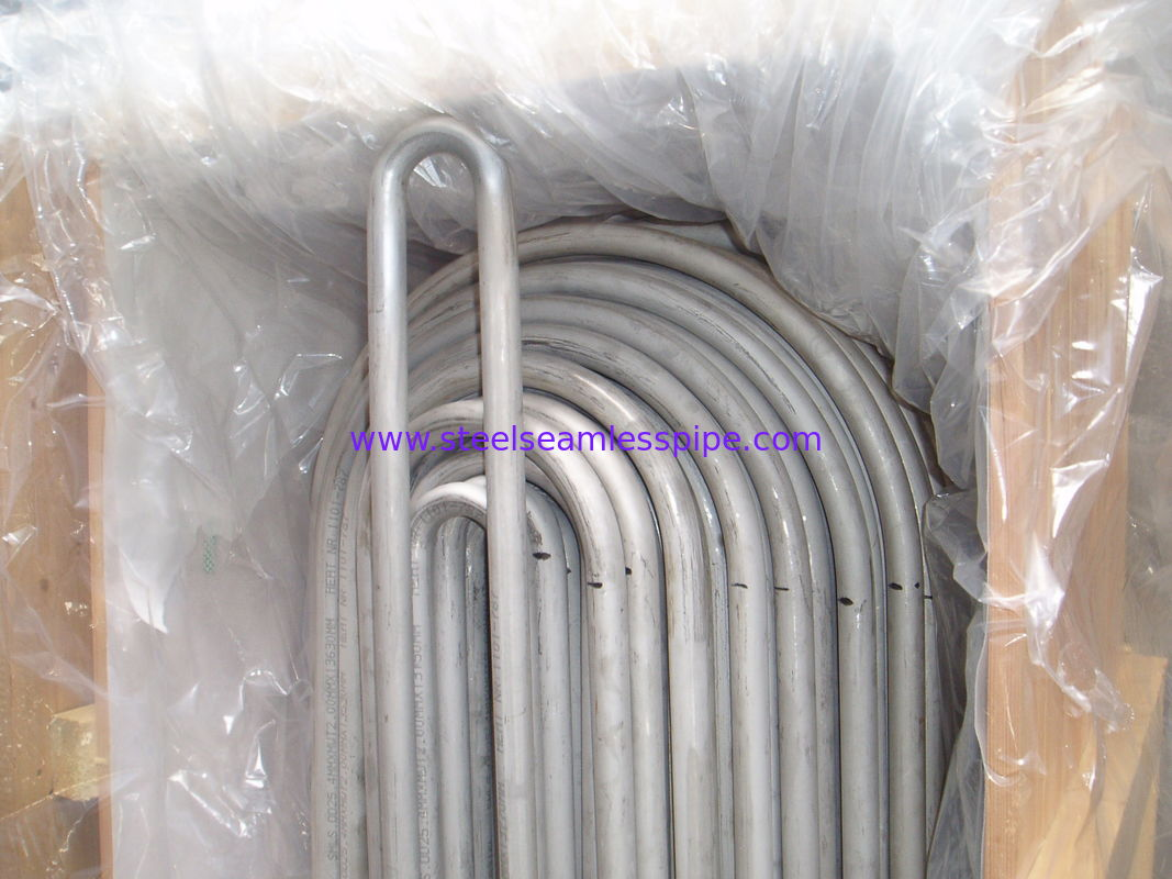 Stainless Steel U Bend Tube ,ASME SA213 TP310 / TP310S / TP310H, Eddy Current Test & Hydrostatic Test