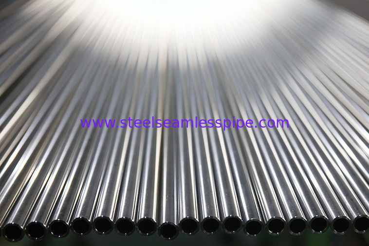 ASTM A269 / ASME SA269 Stainless Steel Tubing , Bright Annealed , Plain End , Plastic Cap TP304 / 304L TP316 / 316L