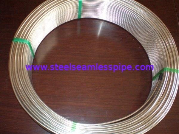 Grade TP304/304L and TP316/316L Stainless Steel Seamless Coil Tube Pickled / Bright Annealed Surface ASME SA213