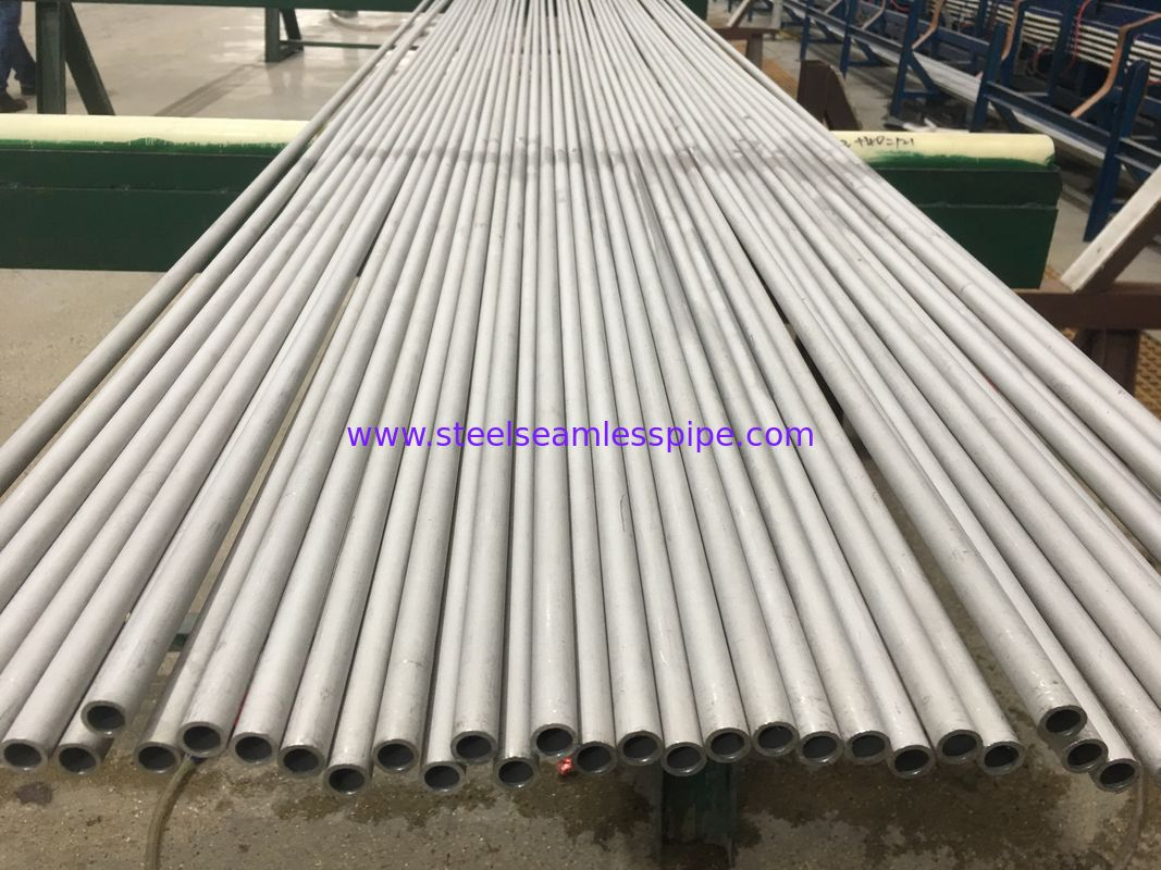 Pickled Solid Stainless Steel Seamless Pipe ASTM A269 TP304 High Performance