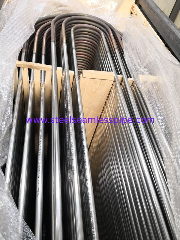 High Precision Stainless Steel U Bend Tube SA688 TP304 With Custom Size