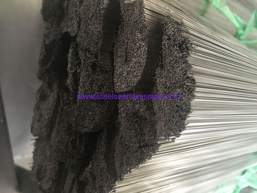 Seamless / Welded Stainless Steel Capillary Tube TP316L TP304L OD 0.1MM - 25MM