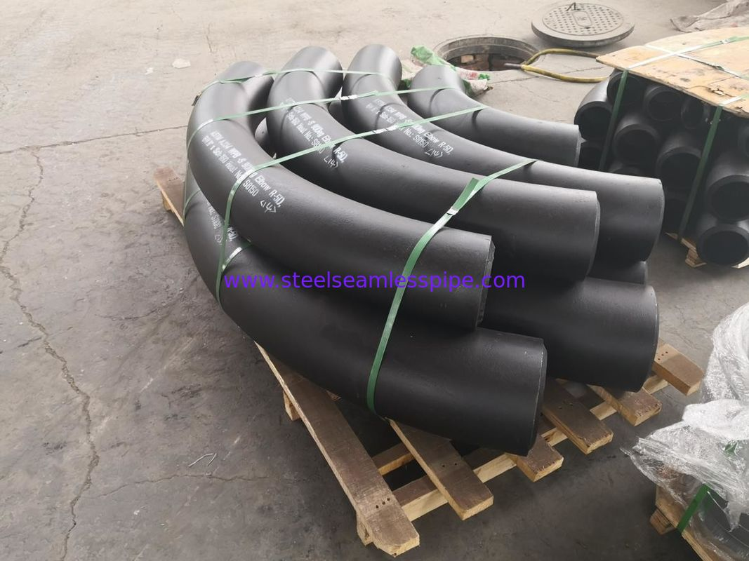 Rust Proof Black Oil Surface Stainless Steel Seamless Pipe ASTM A234 ASTM A420