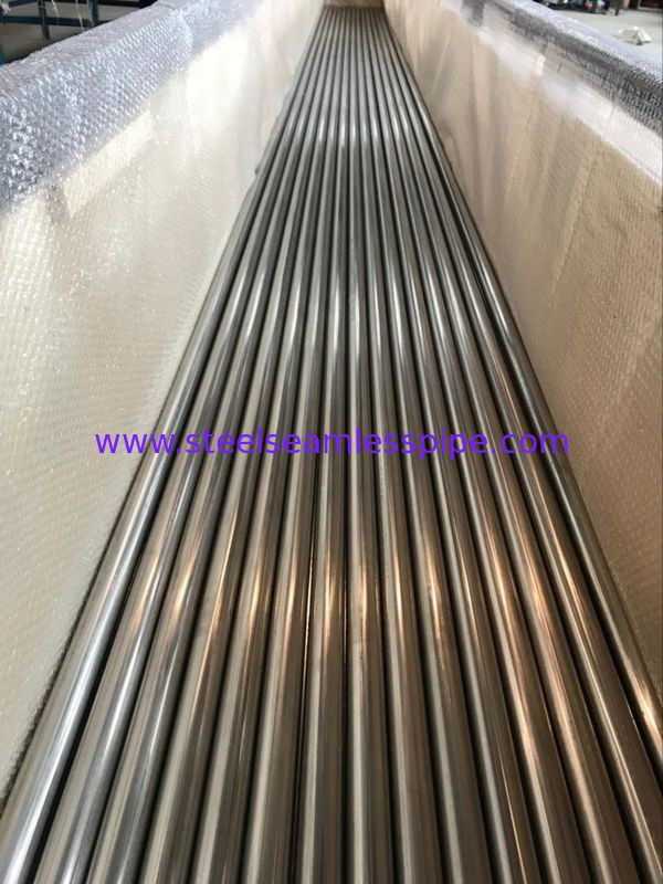 TP316H TP304H TP347H Stainless Steel Round Pipe High Strength For Heat Exchanger