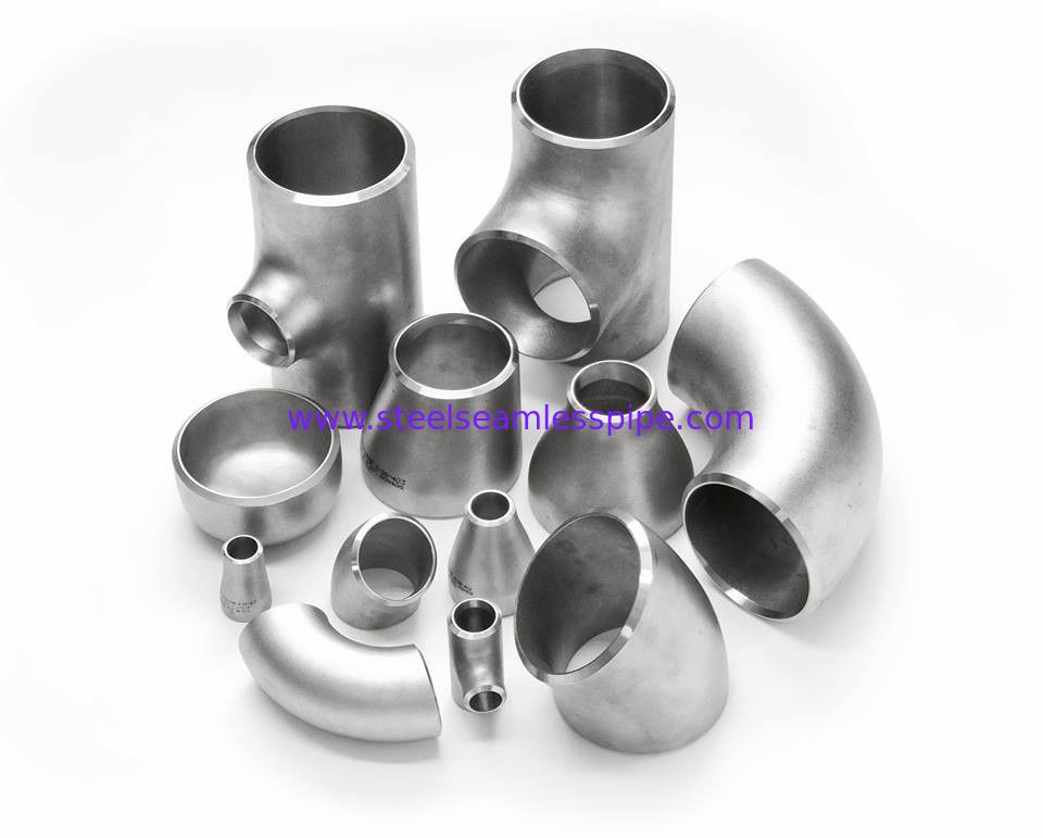 Stainless Steel Butt Welded Fittings LR SR Material Elbow Electro Polish