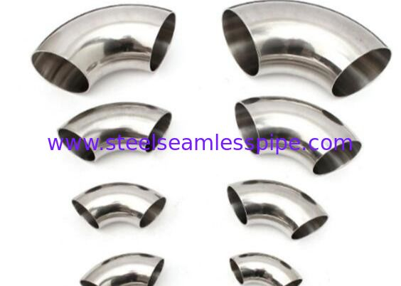 Cement Industry Stainless Steel Buttweld Fittings 45deg 90deg 180deg Elbow